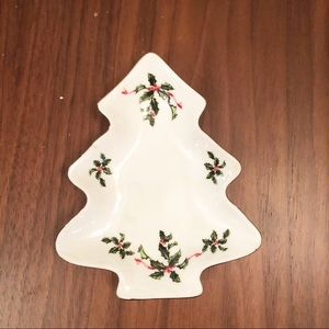 Christmas Dish Lefton